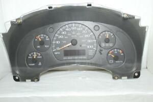 Speedometer Instrument Cluster Dash Panel Gauges 00-05 Astro/Safari 189,407 Mile