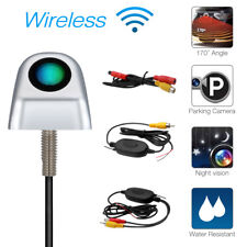 Wireless Car Rear View Ccd Reverse Backup Parking Camera Night Vision 170° angle