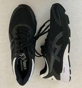 NEW ASICS GT AKASHI  Men's SZ 9 SAMPLE Black White Running Shoes RARE