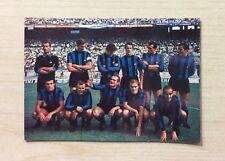 CARTOLINA - SQUADRA / TEAM  INTER 1967-68 - ITALIA - ADF MILANO - NON VIAGGIATA