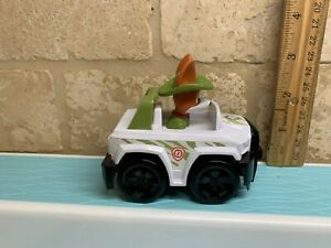 Nickelodeon Paw Patrol Jungle Rescue Pup Racer Tracker  Vehicle HTF