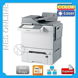 Lexmark X548dte 4-in-1 Business Color Laser  Printer+Duplexer+Duo Drawer 26G0304