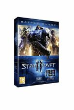 STARCRAFT II BATTLE CHEST TRILOGIE TRILOGY jeu PC / MAC FRANCAIS FR BATTLECHEST
