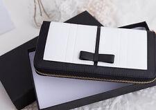 Luxury Women's Clutch buckle Soft Leather Wallet Lady PU Long Card Purse Handbag