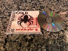 Cold Year Of The Spider Cd! 2003 American Hard Rock! Sierra Swan Staind