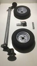 750kg Unbraked Trailer Kit - BPW Axle, Wheels & Knott Cast Coupling - FREE DEL