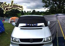 VW Transporter T4 Window Screen Cover Curtain Wrap Frost Black Blind Blue Eyes
