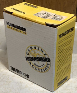 NOS Humminbird SPT-6-16 Portable Transducer W/Suction cup/455 Khz-16 Degree