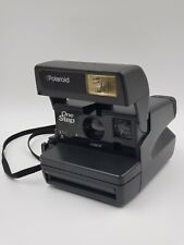 Polaroid One Step Flash Instant 600 Film Camera with Strap - Tested