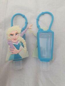 Elsa Frozen princess School bagclip bath body style hand gel holder refil