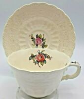 Copeland Spode Billingsly Rose Fine Bone China Cup And Saucer