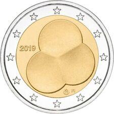"TRES  RARE !!! Finlande 2 € commémorative 2019 UNC ""la Constitution finlaise"""