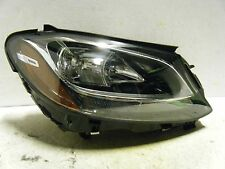 MERCEDES BENZ C CLASS OEM HALOGEN PASSENGER 15 16 HEADLIGHT [1812 READ]