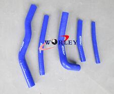 Silicone Radiator Hose Kit for SUZUKI RM125 RM 125 1996 1997 1998 1999 2000 BLUE