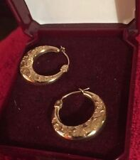 H. Samuel Yellow Gold Precious Metal Earrings without Stones