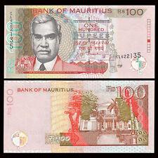 Mauritius 100 Rupees, 2012, P-56 NEW, UNC