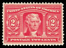 Scott 324 1904 2c Louisiana Purchase Issue Mint F-VF OG NH Cat $60