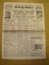 MELODY MAKER 1935 MARCH 23 BBC NAT GONELLA LOUIS ARMSTRONG HENRY HALL