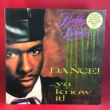 BOBBY BROWN Dance! ...Ya Know It! 1989 UK vinyl LP EXCELLENT CONDITION best of a