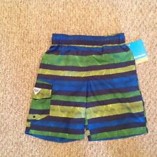 """Columbia Youth """"Barnacle Bay"""" Broadshorts - Youth Small - Multicolor Striped"""