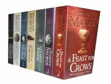 A Song Of Ice And Fire 7 Books Set By George R. R. Martin [Paperback] [Jan 01, 2