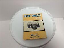 Ricoh Singlex TLS Manual