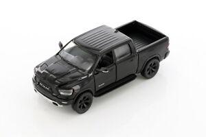 "5"" Die-cast: BLACK 2019 RAM 1500 Pickup Truck 1/46 Scale Diecast Model car"