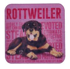 Rottweiler Breed of Dog Design Melamine Drinks Coaster Perfect Gift