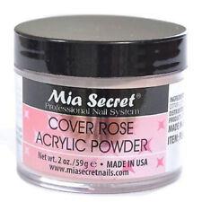 Mia Secret Acrylic Nail Powder Cover Rose 2 oz - USA