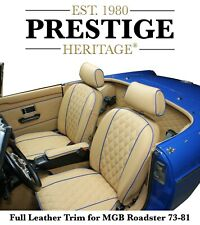 MGB Seat Covers Carpet Set Trim Panel Kit Roadster 1973-1981 - Diamond Edition