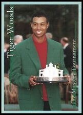 TIGER WOODS 2001 PLATINUM SP SPORTS CARD INVESTOR MASTERS