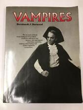 Vampires by Bernhardt J. Hurwood Signed first ed. Signed