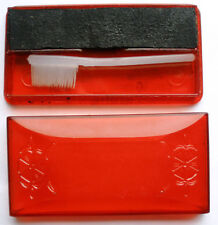 Vintage Soviet Mascara original red box Moscow Soyuzparfyumerprom made in CCCP
