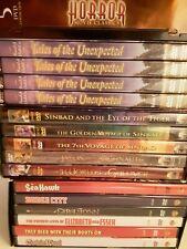 Fantasy, Adventure, Horror, & the Macabre! Harryhausen, Roald Dahl, Errol Flynn.