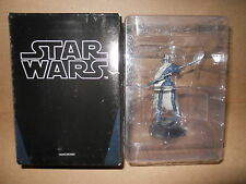 Star Wars De Agostini Schach Magnaguard Droid Silber-Farbig Schwarz 1//24 Figure