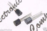 10pcs - ED1602E (1602E) 20V 0.2A 0.5W PNP Transistor - TO-92 Genuine NOS