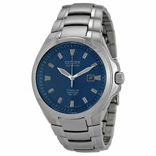 CITIZEN Eco-Drive -- BM7170-53L -- Blue Dial Titanium Mens Watch -- BRAND NEW