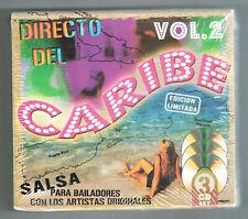 Directo Del Caribe Vol. 2 new 3 CD set Tito Rojas - Giro - Hector Rey
