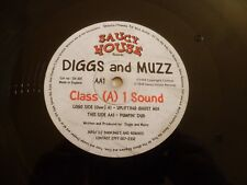 "DIGGS & MUZZ - Class (A) 1 Sound - 1999 UK 3-track 12"" Vinyl Single"