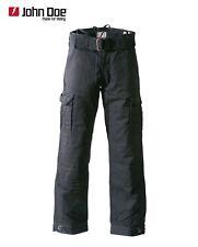 John Doe Cargo Black Aramid Motorrad Jeans * Gr. 33/32 - Motorradjeans Hose