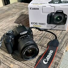 Canon EOS 1100D DSLR Camera EF-S 18-55mm Lens IS II With Battery, Case + Charger