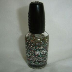 wet n wild***fastdry***Nail Color~~PARTY OF FIVE GLITTERS #238C~~0.46 fl oz~~NEW