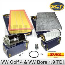 Filterset Inspektionspaket (5-tlg.) für VW Golf 4 & Bora 1.9 TDI | SCT Germany