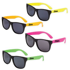 150 Personalized Classic Sunglasses Printed W/ Your Logo,Name or Message