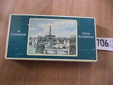 BOURNEVILLE CADBURY FRY'S CHOCOLATE ADVERTISING TIN