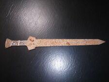 VINTAGE AFRICAN GLADIATOR SWORD DAGGER Solid Iron