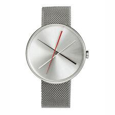 """Projects Watches """"Crossover"""" Cuarzo Malla Acero Inox Plata Reloj Unisex Hombre"""