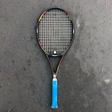 "Wilson Pro Staff Classic 6.1 Tennis Racquet Racket 4 1/2"" Grip Black Yellow Red"