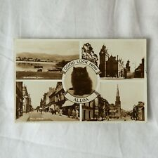 VINTAGE POSTCARD ALLOA, SCOTLAND Good Luck From Alloa - General views 1950s