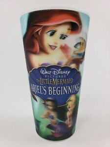 Walt Disney The Little Mermaid Ariels Beginning Collectible 3-D Cup 3D Princess